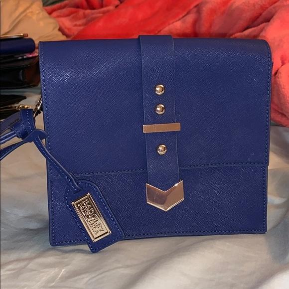 Badgley Mischka Handbags - Beautiful Navy blue crossbody